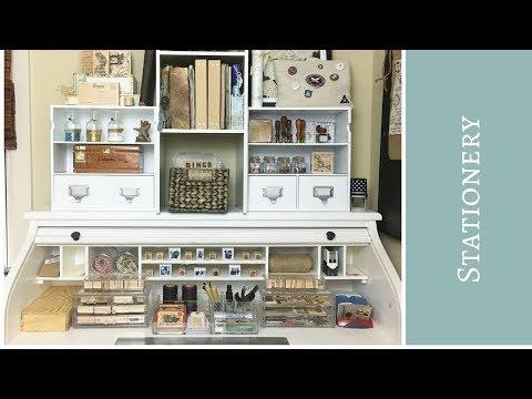 Stationery Desk Tour