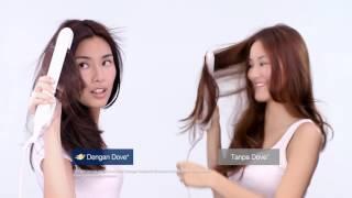 Uji kerusakan hair styling dengan D...