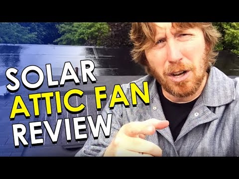 Solar Attic Fan Review   How to Cool Your Hot Attic Using Solar Fans
