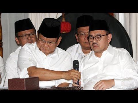 Prabowo Minta Sudirman Said Jadi Tim Suksesnya Di Pilpres 2019