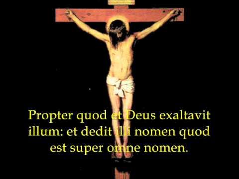 Christus factus est pro nobis - Catholic Gregorian Chant Songs