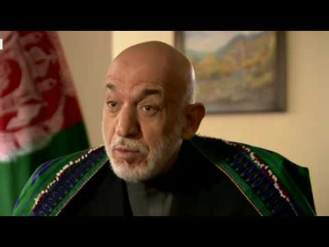 Ex-Afghan President Karzai US MOAB bombing 'Brutal act'