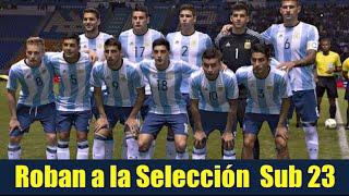 Roban a la Selección Argentina Sub 23 en hotel de Puebla