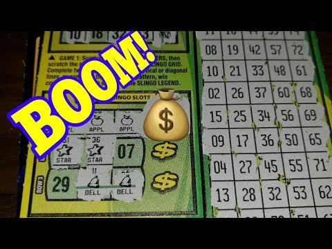 🌟NICE WIN🌟 $5 GREEN LINE SLINGO - ARIZONA LOTTERY SCRATCH OFF TICKET