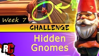 Fortnite WEEK 7 Challenge | How to find Hidden Gnome Location (Finding Gnomes in Named Locations)