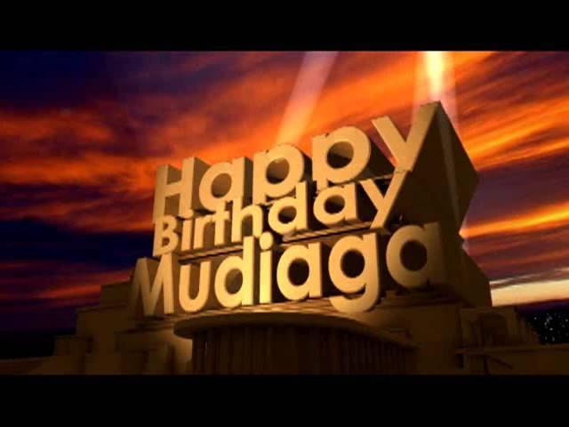 Happy Birthday Mudiaga