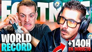 🎖 FORTNITE GUINNESS RECORD, TORETE A SINGLE DAY OF GETTING THE RECORD+140HOURS