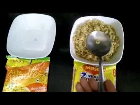 Nestle Maggi Vs Patanjali Noodles by Ramdev | Which is better - Packaging, Taste and Looks