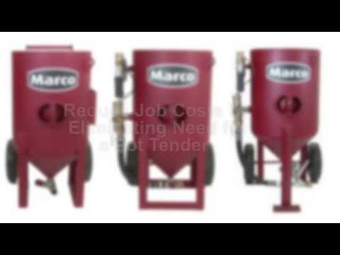 Marco® Blastmaster® Abrasive Blasting Pot Overview