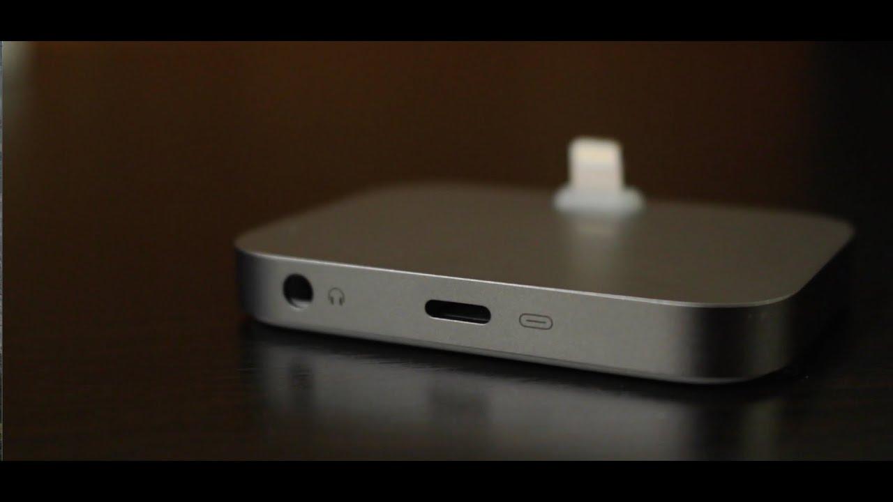 Apple Lightning Dock Unboxing  Space Gray - YouTube