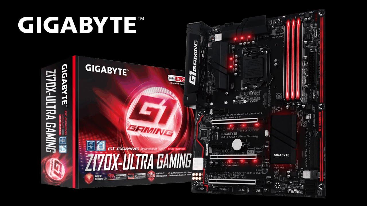 Gigabyte GA-Z170X-Ultra Gaming Intel LAN 64x