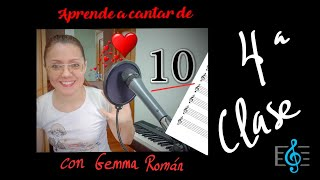 CLASE DE CANTO 4 Calentamiento con registro de 3as