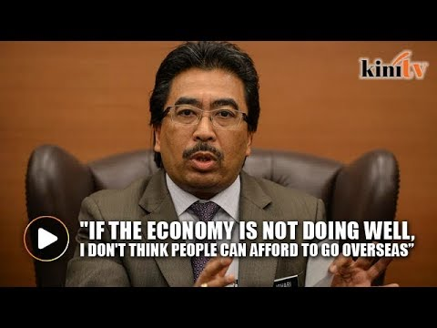 Johari: Malaysians spent billions overseas, how bad can the economy be?