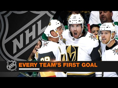 Every Team's First Goal of the 2017-18 Season