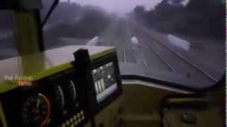 cab ride of zcu 30 6305 clicking 110 kmph pakistan railways