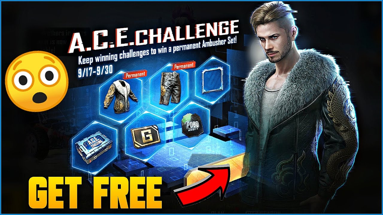 HOW TO PLAY ACE CHALLENGE EVENT IN PUBG MOBILE !! GET PERMANENT AVATAR FRAME & OUTFIT