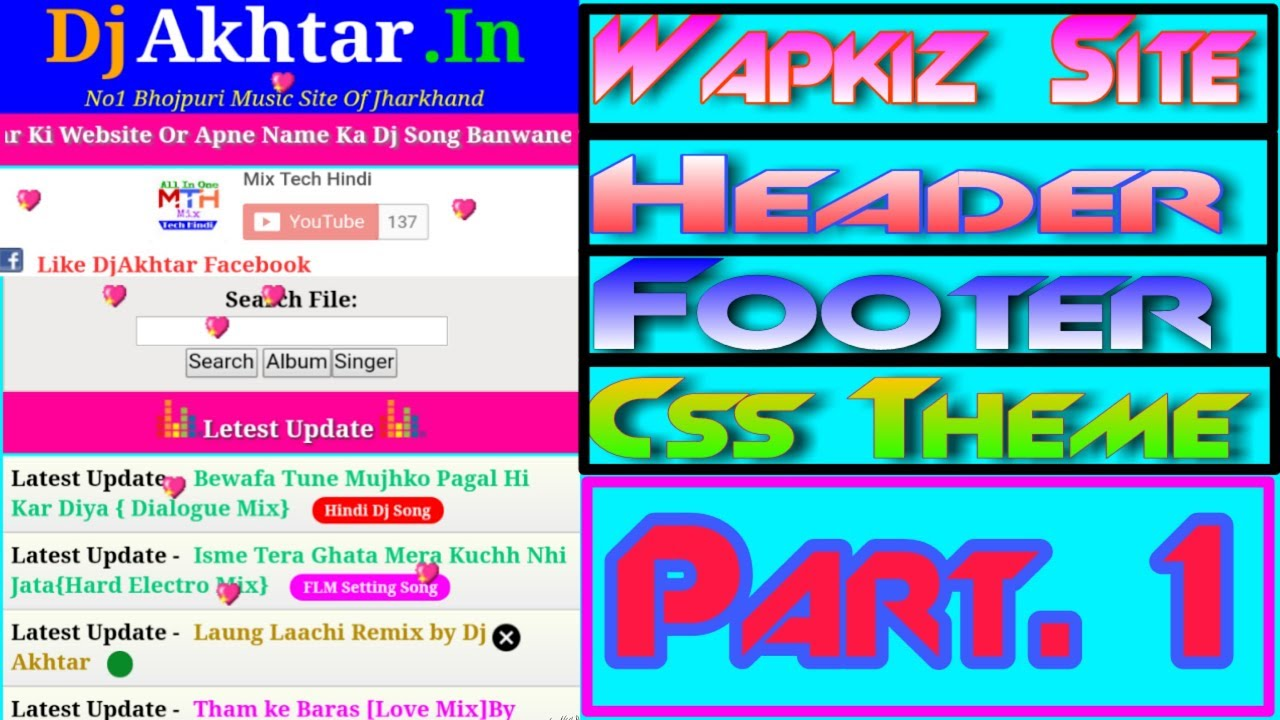 How To Create Wapkiz Site | Part 1 | Full Tutorial In Hindi | Mix Tech Hindi