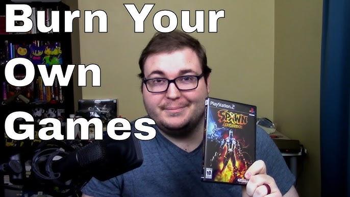 how to burn playstation 2 games mac