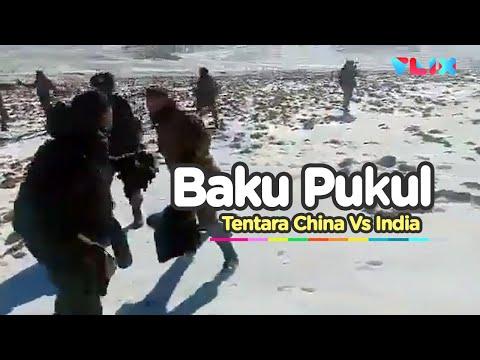 Viral Baku Pukul Tentara India Vs China
