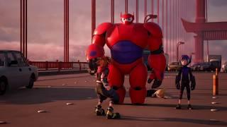 Kingdom Hearts 3 — трейлер «Большая шестерка героев»