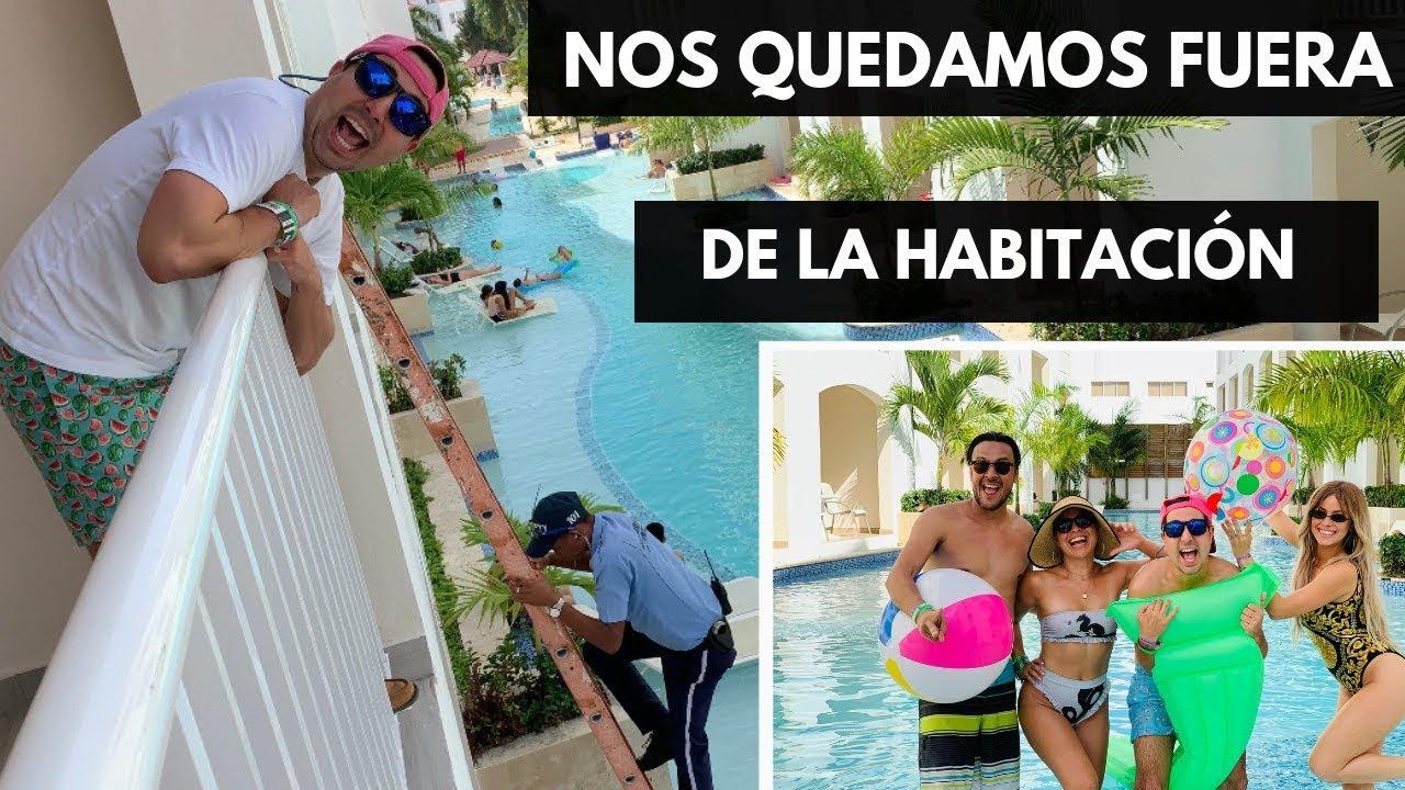 NOS QUEDAMOS FUERA DE LA HABITACION | VIAJE PUNTA CANA | VLOG 99 | Alejandro Gil