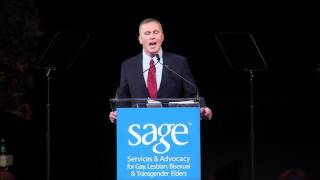 SAGE Chief Executive Officer Michael Adams at the 20th Anniversary SAGE Awards and Gala