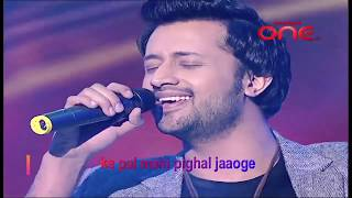 Socho ge jab mere bare mein | Atif Aslam singing beautiful song