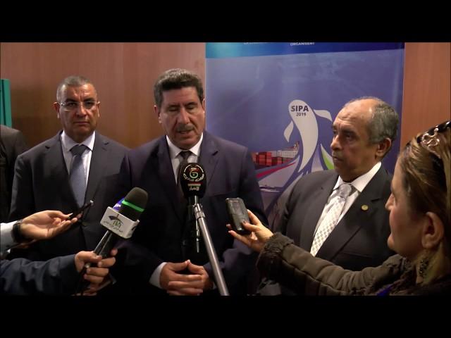 تصريح وزير الفلاحة والتنمية الريفية والصيد البحري و وزير الزراعة واستصلاح الأراضي المصري SIPA2019
