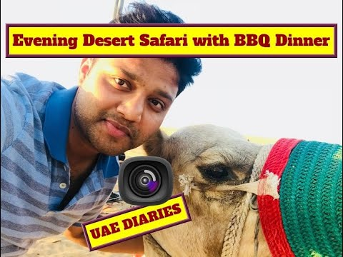 UAE DIARIES | Day 3 | Evening Desert Safari with BBQ Dinner