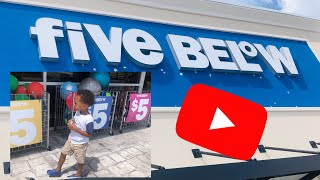 *FIVE BELOW* First Time | Everything Under $5 | Reaction To Store