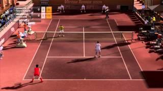 Virtua Tennis 2009 Doubles match #4