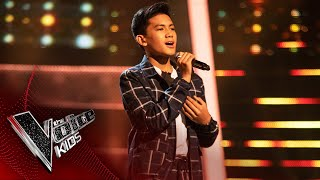 Jarren Performs 'Just The Way You Are' | Blind Auditions | The Voice Kids UK 2020
