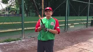 Me escapé, un ratito, para practicar beisbol