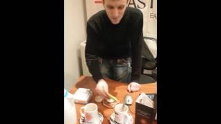 Украина Харьков Sisel Kaffe  Процесс приготовления кофе Сергей Назаров