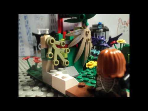 The Brickaniser Lego mini moc contest 2017) JUNGLE HIDE MOC - YouTube