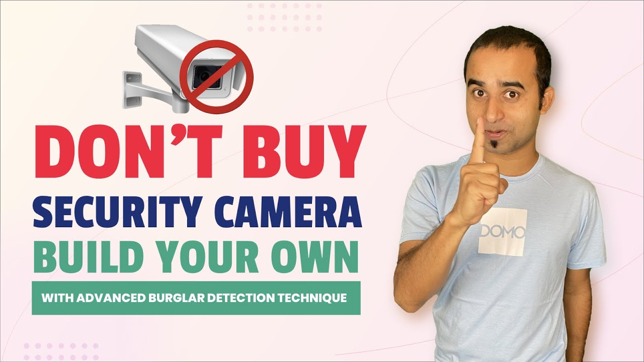 Don't Buy Security Camera! Build Your Own || Computer Vision || Open cv tutorial || python project