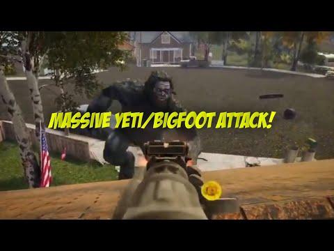 MASSIVE YETI/BIGFOOT ATTACK ON TOWN! |