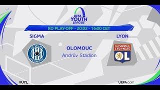 Youth League : Sigma Olomouc / Olympique Lyonnais