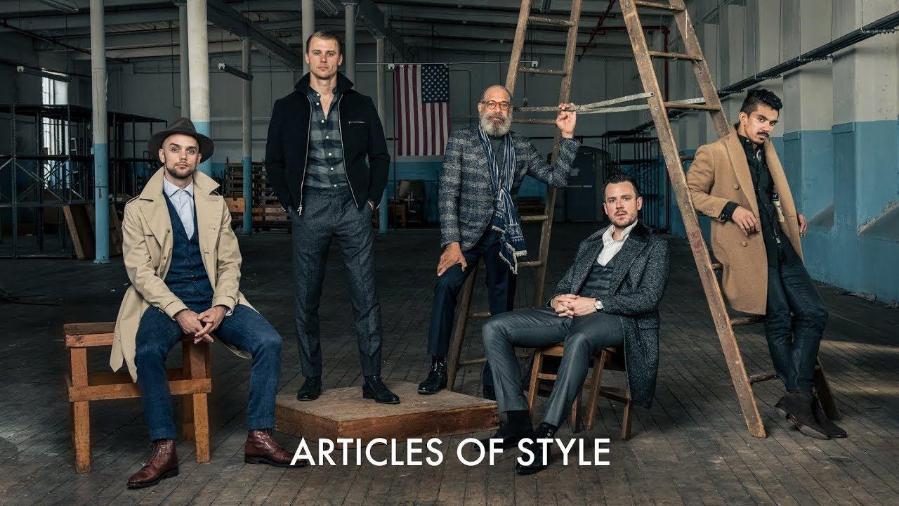 142656c635aa Articles of Style  Custom Menswear Made in America - YouTube