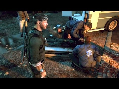 Sam Fisher Arrives to Ruined Washington after EMP Blast (Splinter Cell: Conviction)
