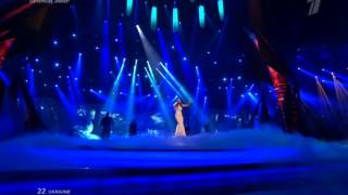 Евровидение 2013 Финал Zlata Ognevich  Gravity .Украина -3 место