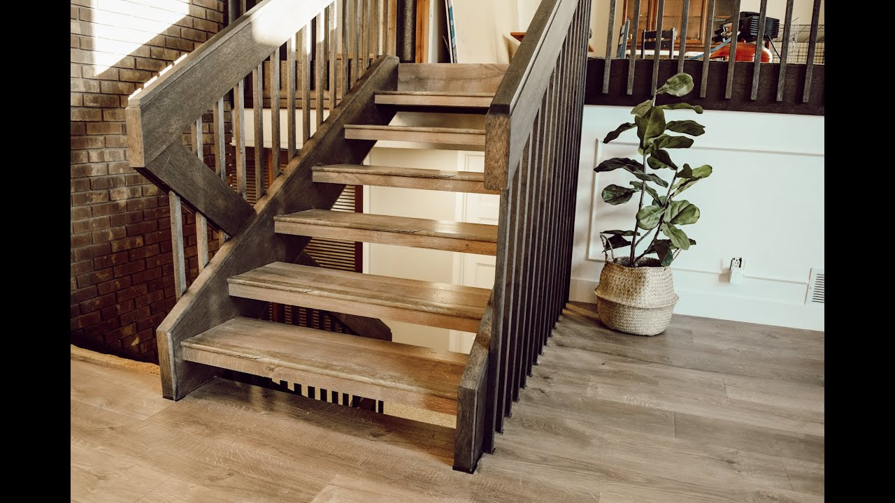 How To Install Laminate Flooring On Floating Stairs You
