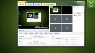 ManyCam - Use a Webcam with multiple programs simultaneously - Download Video Previews