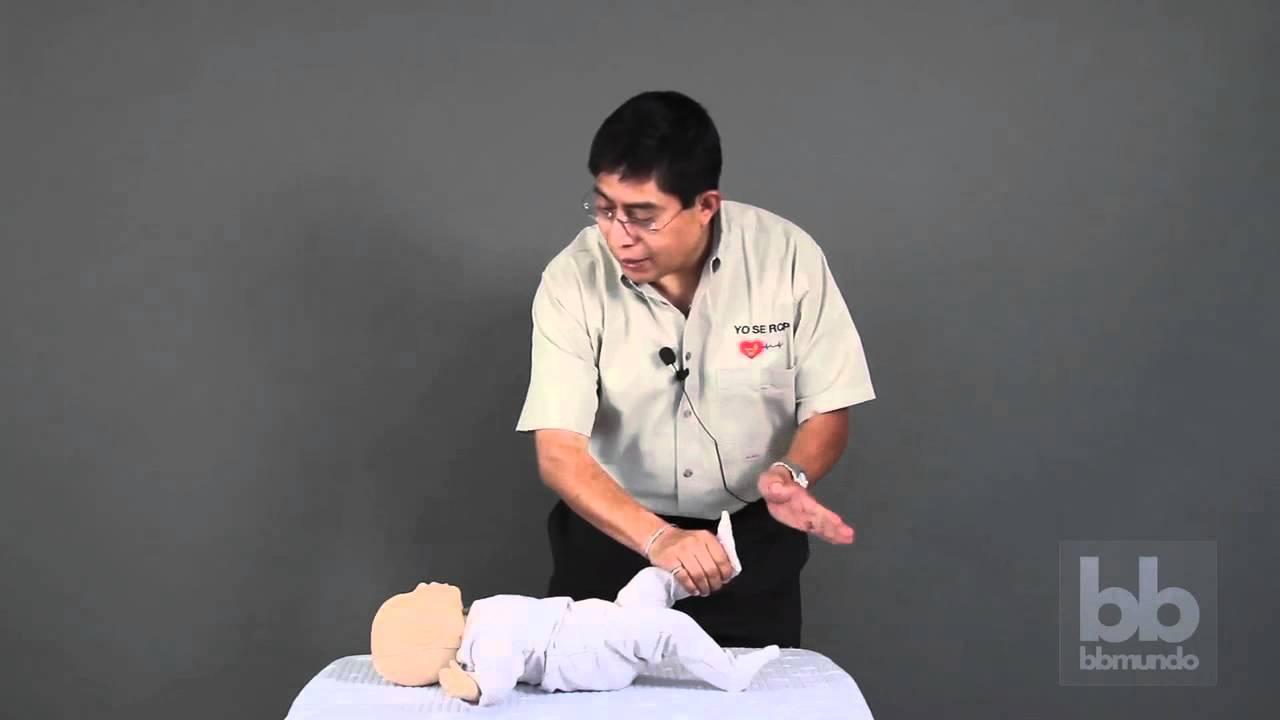 Reanimación cardiopulmonar RCP en bebés    bbmundo primeros auxilios