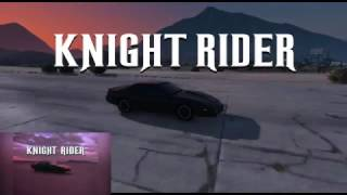 """""""KNIGHT RIDER"""" INTRO in GTA V! (Frame-By-Frame perfect remake)"""