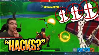 Nick Eh 30 GETS KILLED BY HACKER STREAM SNIPING (RAGES!) IN FORTNITE