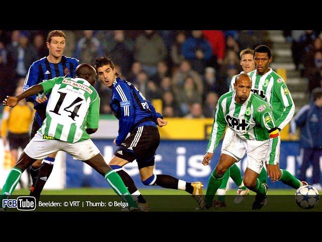 2005-2006 - Jupiler Pro League - 14. Club Brugge - La Louvière 4-0