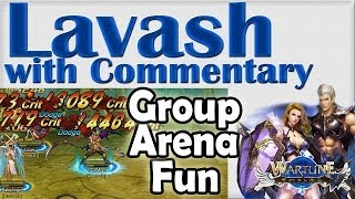 ➜ Wartune Gameplay 75+ Level Group Arena Cross Server with Louve and Baby (6 Jan)