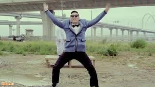 Переделка клипа:PSY - Gangnam Style песня:Little Big – Faradenza