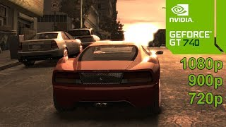 GTA 4 / IV GamePlay [PC] in Geforce GT 740 - No Commentary part 1
